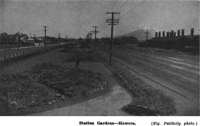 Hawera March 1937